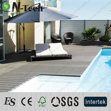Swimming pool decking for professional outdoor garden project