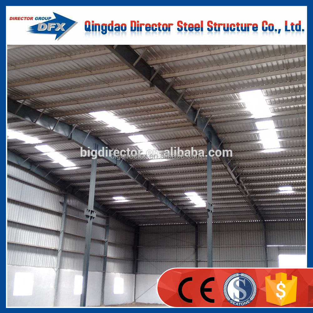 Africa customizing prefabricated building light steel frame warehouse construction