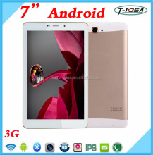 7 Inch 1280*800 IPS 3G Quad Core Tablet MTK6582 1GB RAM GPS Bluetooth Wifi Dual SIM Metal Case
