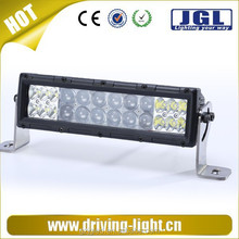 Double row 96W super brightness cree led light bar, 15'' inch flexible off-road vehicle accessories light bar