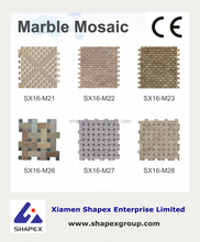 Good quality from own factory natural stone mosaic tile