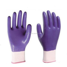 13G Full coated nitrile <strong>safety</strong> working gloves
