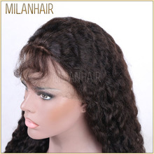 Mindreach Natural Color Hair Virgin Peruvian Full Lace Wig With Baby Hair