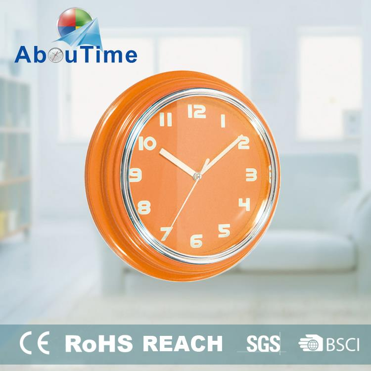 simple grandfather clock movement round wall clock with pendulum