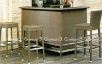 high top bar chair and high table outdoor furniture