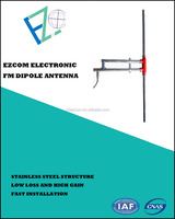 FM DIPOLE ANTENNA FOR RADIO BROADCASTING STATION