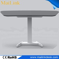 hot selling electric adjustable school desk and chairs,just height adjustable desk frame wholesale