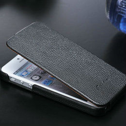 crocodile credit card leather flip case for iphone 5 5s w\/ stand