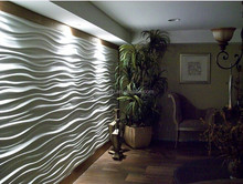 3d texture wall panel used for hotels wall decoration