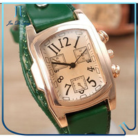 Fashion Lady Watch China Supplier Leather Vintage Watch
