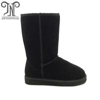 suede real leather winter boots 5815 for women classic tall snow boots