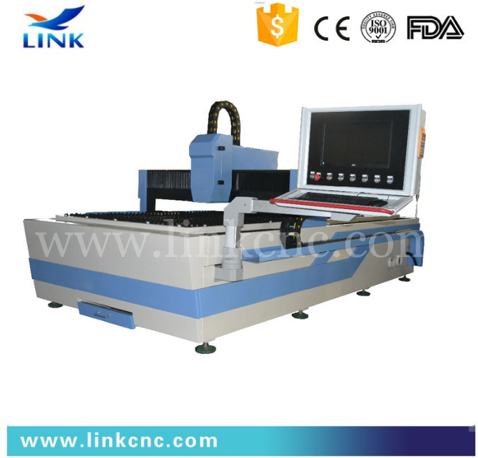 Easy operation metal cutting fiber laser cutting system with 500W power source/stainless steel laser cutting machine price cheap