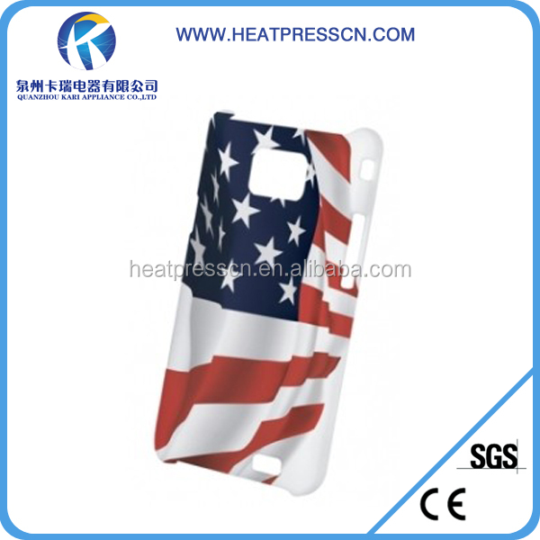 3D sublimation phone case for samsung S2 9100