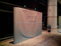 exhibition display backdrop,pop up stage backdrop