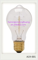 Most Popular Europe Product Antique Vintage lamps edison light bulbs A19/A60 230V E27/E26/B22 25W 40W 60W