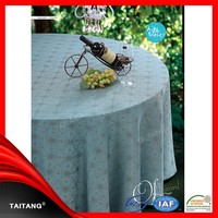 2015 new series polyester table cover printed paper tablecloth roll