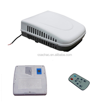 Hot sale roof mounted 12 volt dc klima roof top ac unit, roof air conditioner for mini van