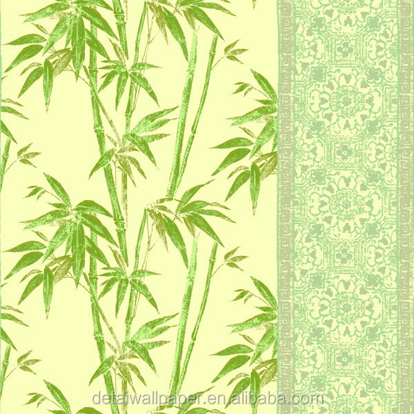 Detai Chinese character bamboo wall paper, house decoration wallpaper