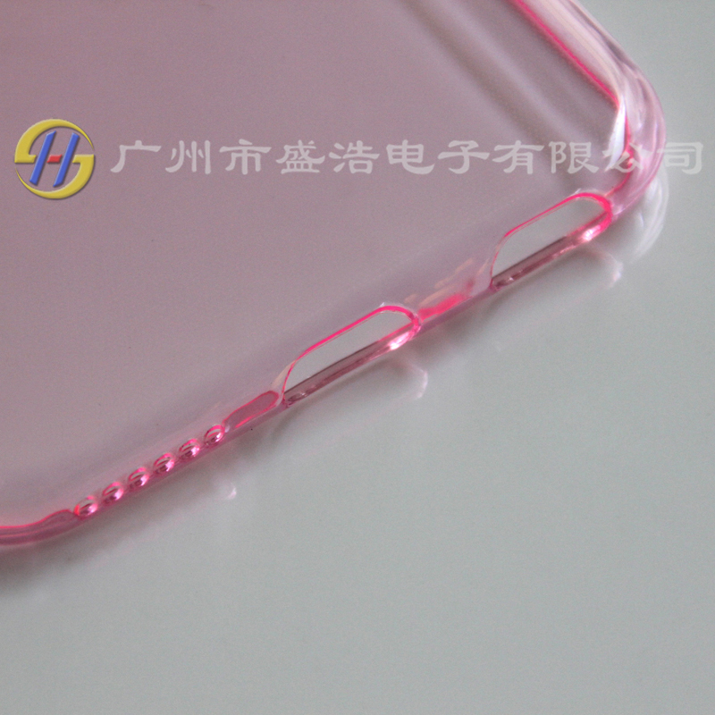 ultra-thin 0.8mm soft TPU cell phone/mobile cover/case for iphone 6