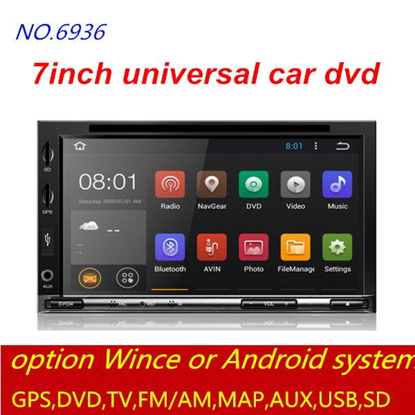 good selling model 2din Car DVD player built in buletooth for TOYOTA with capacitive touch screen