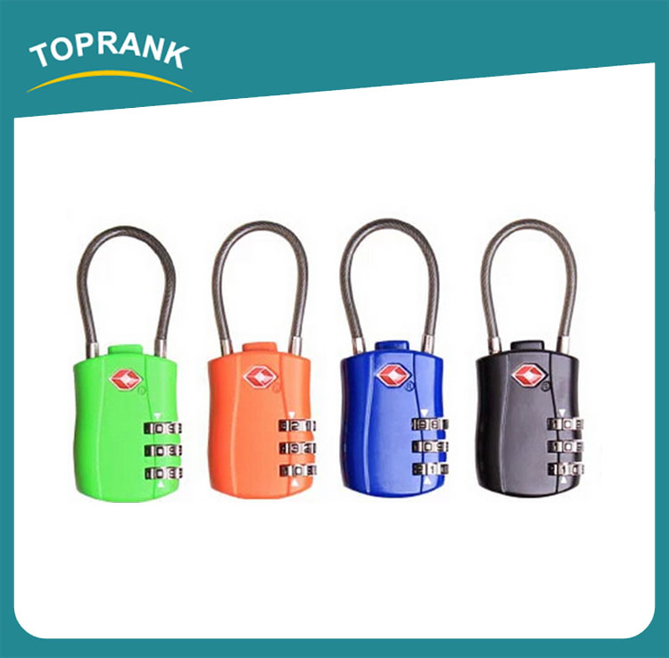 Toprank Zinc Alloy Metal 3 Digit Combination Travel Luggage Suitcase Lock Padlock Combination Digital TSA Luggage Lock