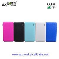 Cheap price Ultra-thin Big Capacity Power Bank portable charger 8000mah For All Mobile Phones