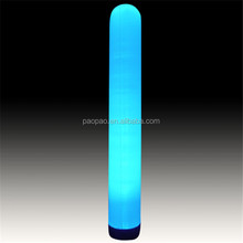 Attractive colorful inflatable pillar, inflatable lighted tubes cones for decoration. A5012-1
