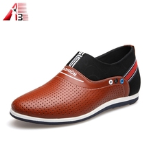 New italy design men leather formal shoes in leather