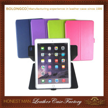 360 degree rotating protective tablet case for iPad Air 2 laptop cover,tablet magnetic case