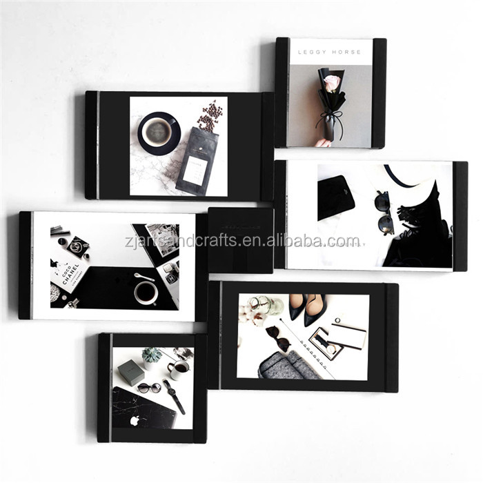 Flexible leather magic Free combination arts photo frame