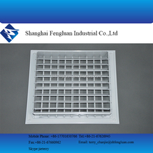 Square adjustable aluminum air grilles
