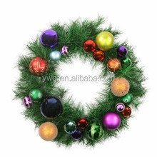 christmas wreaths 10 inch with colorful christmas ball target christmas wreaths
