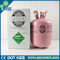 Basic Organic Chemicals Mixed Eco-friendly Refrigerant Gas R410A