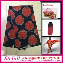 Stefull original african lace new design kain cotton fabric