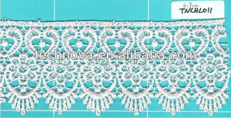 Latest Fancy chemical lace for traditional dresses