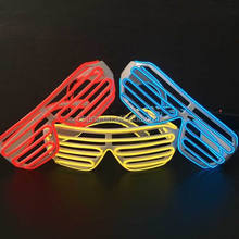 attention-catching high bright shutter glasses/el glasses/el wire glasses for decoration