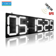 Anime innovation wall large led time zone clock
