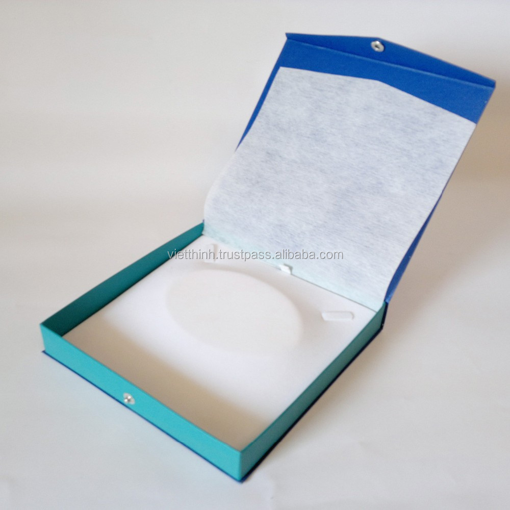 new production recycle paper gift box 2015 foldable for jewelry
