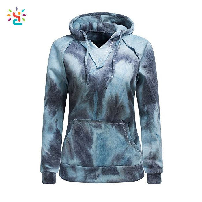 New arrival Ombre oversized hoodies 100% cotton sweatshirt two tone hoodies colorblock hoody women sweat suit wholesale design