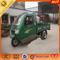 Three wheel motorcycle for steering material cargo truck