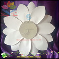 New production high grade organza folding flower wall for stage backdrop