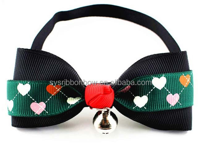Wholesale fashion colorful pet bows for dogs or cats