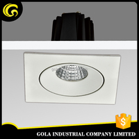square downlight for shop/coffee/hotel decoration cob led downlight