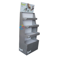 Convenient Custom retail cardboard umbrella display rack for retail stores