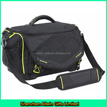 High quality Black Nylon Shoulder Tackle Bag fishing