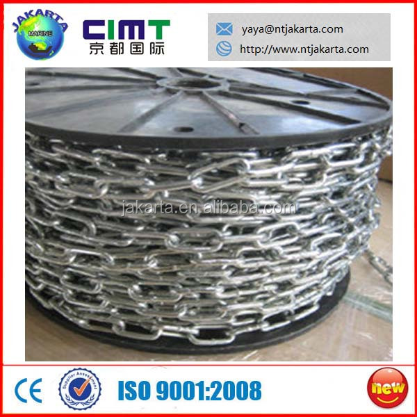 4mm Smooth Welded Electric Galvanized Short Link Chain