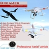 Wholesale Rc Quadcopter Intruder UFO Drone for Aerial Photography Dreamer 1th VS DJI Phantom 3 By Salange
