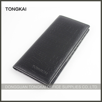China Manufacturer Custom Slim and Long Crocodile Wallet