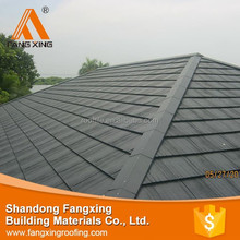 New design fashion low price plastic roofing material sheet/pvc roof tile , roofing slate