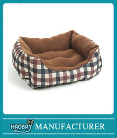 Haobay Plush Dog Bed Rectangle Warm Pet Bed